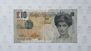 Original-Banksy-di-faced-tenner-ten-pound-note-rare-and-in-mint-condition