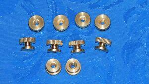 10pc-Thumb-nut-brass-4mm-fits-autolite-3095-spark-plug-Maytag-engine-hit-miss