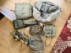 Vietnam & Korean War USMC Army Original Used Field Gear, Packs & Flotation Pack