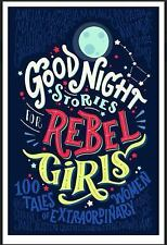 Good Night Stories for Rebel Girls by Elena Favilli (2016, Hardcover)