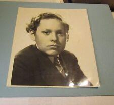 1930's Douglas Scott Child Movie Star Photo Wuthering Heights Wee Willie Winkie