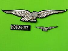 MOTO GUZZI KIT ORO PATCH TOPPE RICAMATE TERMOADESIVE