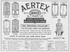 The Cellular Clothing Co Ltd London - Antique Edwardian Advert 1905