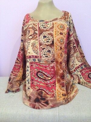Step N Style Plus Size Embroidered Top Blouse Shirt Multi Color L,XL,1X,2X NWT