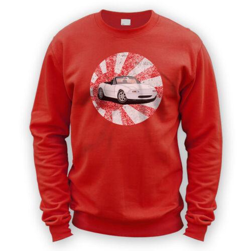 Japanese MX5 Mk1 Sweater Gift Present Japan JDM Sports Drift x8 Colours