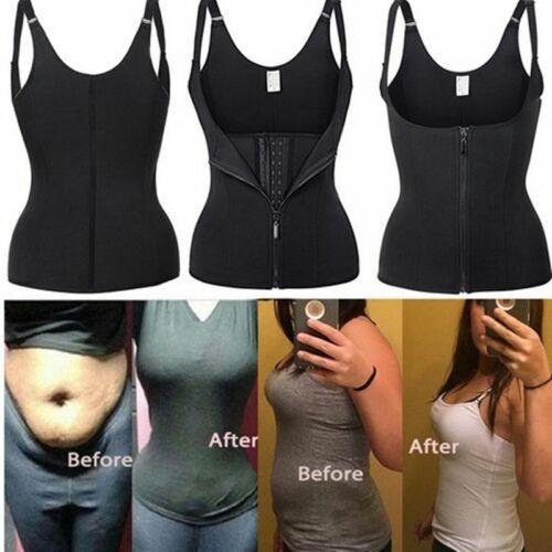 Women Body Shaper Ultra Sweat Waist Trainer Cincher Underbust Corset Sauna Vest