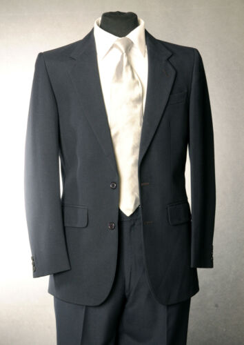 MJ-92 NAVY BAROTHEA WOOL LOUNGE JACKET ONLY WEDDING/FORMAL/OCCASION/EVENT