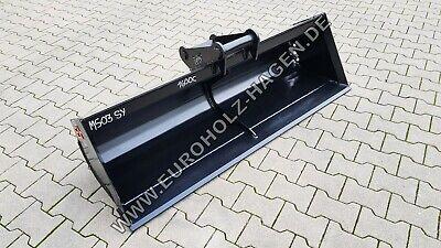 Baumaschinenteile & Zubehör Grabenräumlöffel Ms03 Sy 1600 Mm Löffel Schaufel Minibagger Ms 03 160 Cm 4-6 T Ungleiche Leistung Anbaugeräte