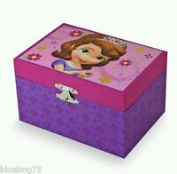 Disney Sofia The First Musical Jewelry Box Princess Girl Birthday Present