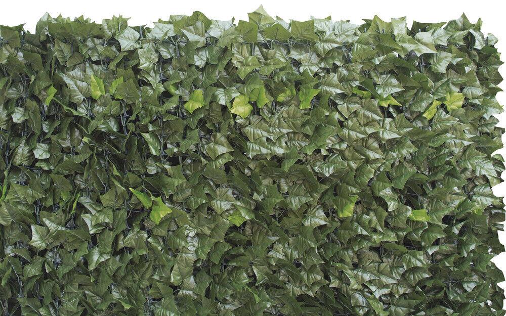 verdeLOOK Sempreverde® Double, Siepe artificiale 1.5x3 m, foglia edera su due la
