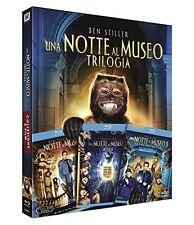 Una Notte al Museo - Trilogia (Cofanetto 3 Blu-Ray) Italiano - Nuovo Imballato