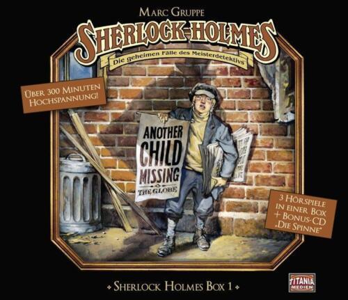1 von 1 - Sherlock Holmes Box 1 Spuk im Pfarrhaus - Der Engel von Hampst..(2015, Hörspiel)
