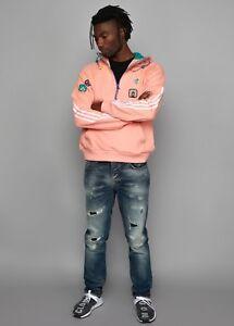 b3d878b6f4ea9 Image is loading adidas-x-Pharrell-Williams-HU-Hiking-Hoodie-Large-
