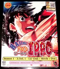 DVD Hajime No Ippo Season 1 - 3 Vol. 1 – 127 End Movie OVA