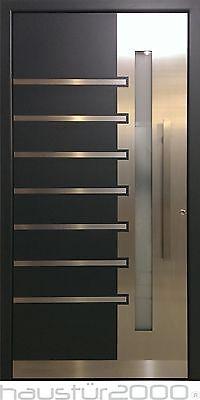 Aluminium Haustür Alu Haustür Haustüren flügelüberdeckend Mod. HT 5266 - FA