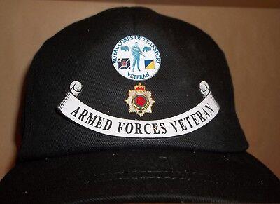 ROYAL PIONEER CORPS CAP BADGE PRINTED ON A BASEBALL CAP