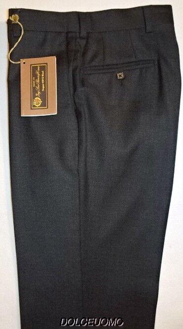 NEW  men SAKS FIFTH AVENUE 29 W Lgold PIANA SUPER 120'S WOOL PANTS