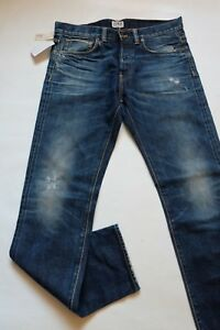 Ed Slim Selvage 200€ W32 G6 Jeans L32 Edwin Val 63 80 Rainbow Homme blue gwUREIx6q