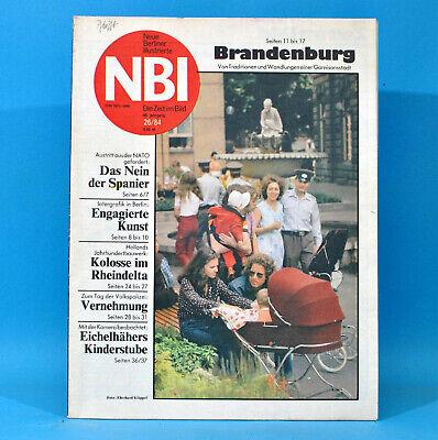 Ddr Nbi 26 1984 Volkspolizei Brandenburg Niederlande Lepsius Intergrafik Bubka C Einfach Zu Reparieren