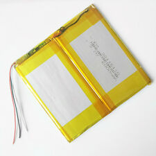 6000mAh 3.7V LiPo li-Polymer Battery For Power Bank Tablet PC laptop 38116110