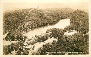 Aerial-View-Lake-Mohonk-Mountain-House-1930s-RPPC-New-York-Postcard-5-Fairchild
