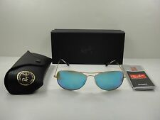 a9ca634e61 Ray-Ban Aviator Polarized Blue Mirror Chromance Sunglasses - Rb3562 112 a1  59