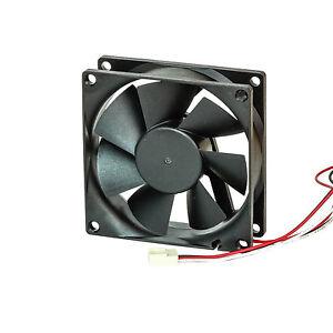 l fter 80mm axial fan geh usel fter 26db 12 volt 46 m h. Black Bedroom Furniture Sets. Home Design Ideas