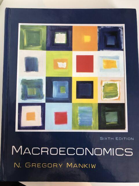 Macroeconomics by N. Gregory Mankiw (Hardback, 2006)