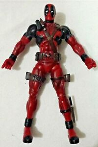 Deadpool-Marvel-DST-7-5-inch-Figure-Figurine-Red-Suit-no-accessories-2011