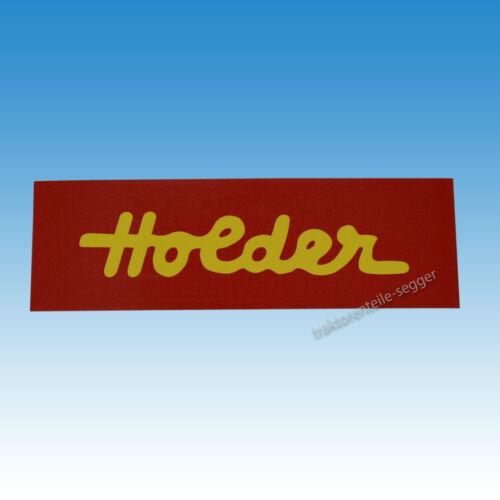 Holder Haubenaufkleber für Holder A 8 Aufkleber Traktor Schlepper 01541