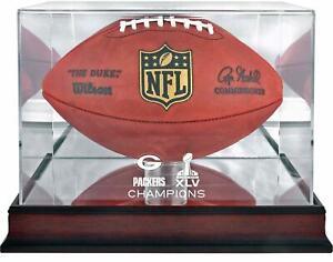 Green-Bay-Packers-Super-Bowl-XLV-Champions-Mahogany-Football-Logo-Display-Case