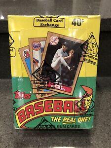 1987-Topps-Baseball-36-Pack-Wax-Box-BBCE-Bonds-Jackson-McGwire-Larkin-PSA-10