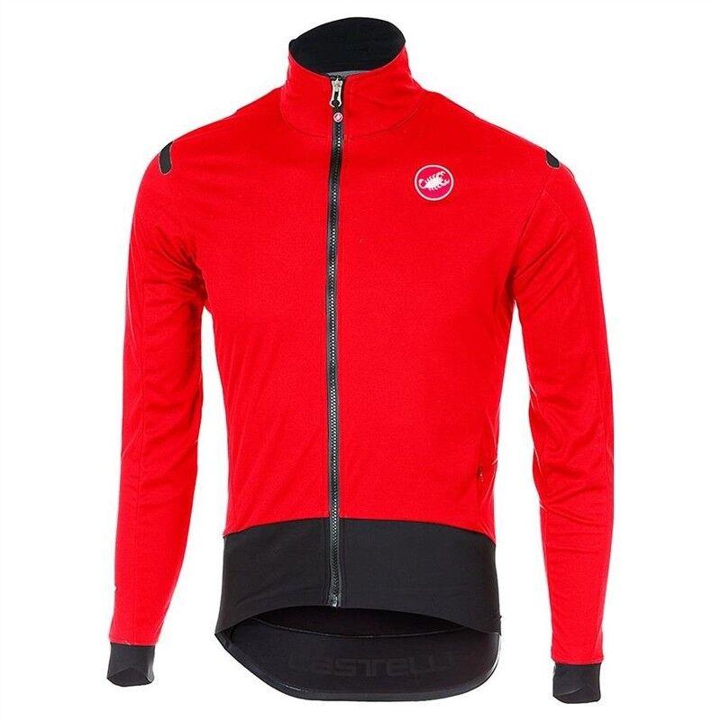Castelli  Ros Luz Rojo-Negro Alpha chaqueta  ahorra hasta un 50%