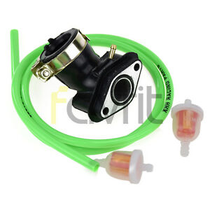 Details about INTAKE MANIFOLD fFUEL FILTER HOSE For VIP Future Champion  50cc Scooter Moped