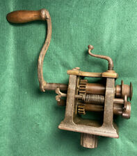 Antique Peck Stow Amp Wilcox Co Tinsmith Turning Machine Roll Former Crimper