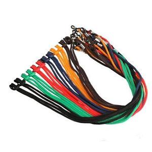 1 Eyeglass Cord Colorful Nylon Strap Holder Necklace (1) single cord US SELLER!