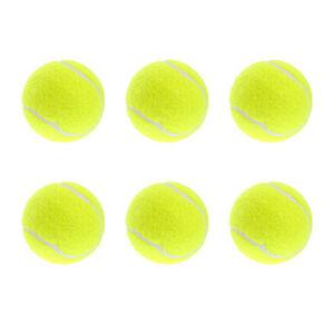 6x tennisb lle tennisball spielball f r hunde katzen 6 st ck ebay. Black Bedroom Furniture Sets. Home Design Ideas