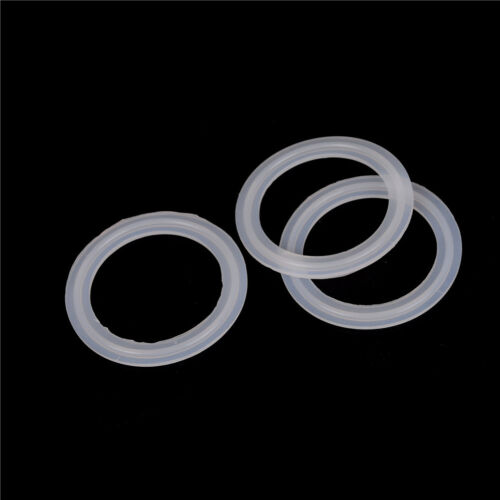 """10Pcs 2/"""" Sanitary  Clamp Silicon Gasket Fits 64mm OD Type Ferrule Flange CRIT"""