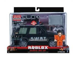 SEALED-New-ROBLOX-Badimo-Bloxy-Action-Collection-Jailbreak-SWAT-Vehicle-Car-Unit