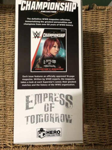 WWE Asuka MAGAZINE /& Statua Edizione 23 WWE CAMPIONATO FIGURINA RACCOLTA