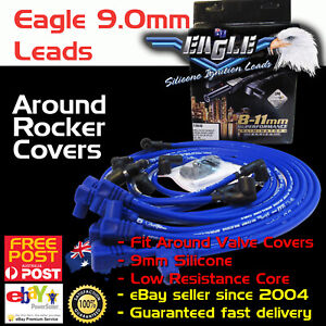 Eagle-9mm-Ignition-Spark-Plug-Leads-SB-Chev-283-400-Around-Rocker-Covers