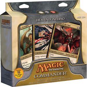Heavenly-Inferno-Commander-2011-Deck-SEALED-Box-Magic-Gathering-EDH-Rare-Cards