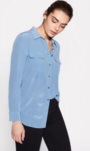 Equipment-Slim-Signature-Silk-Shirt-Morocco-Blue