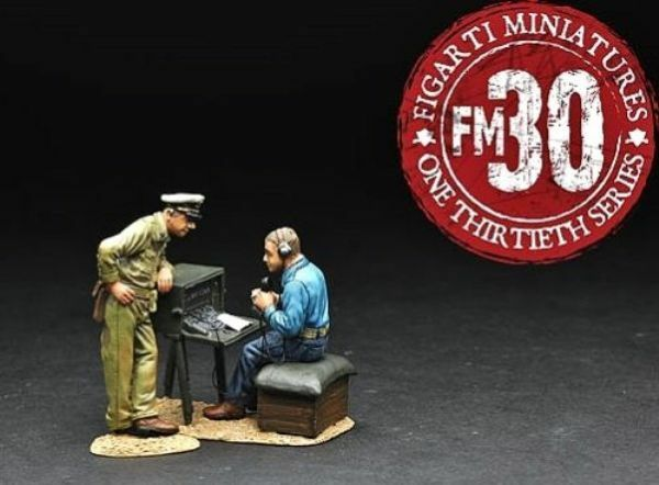 Figarti WW2 Amerikanische Wake Insel WIA-009 U.S.Radio Operator Set A MIB