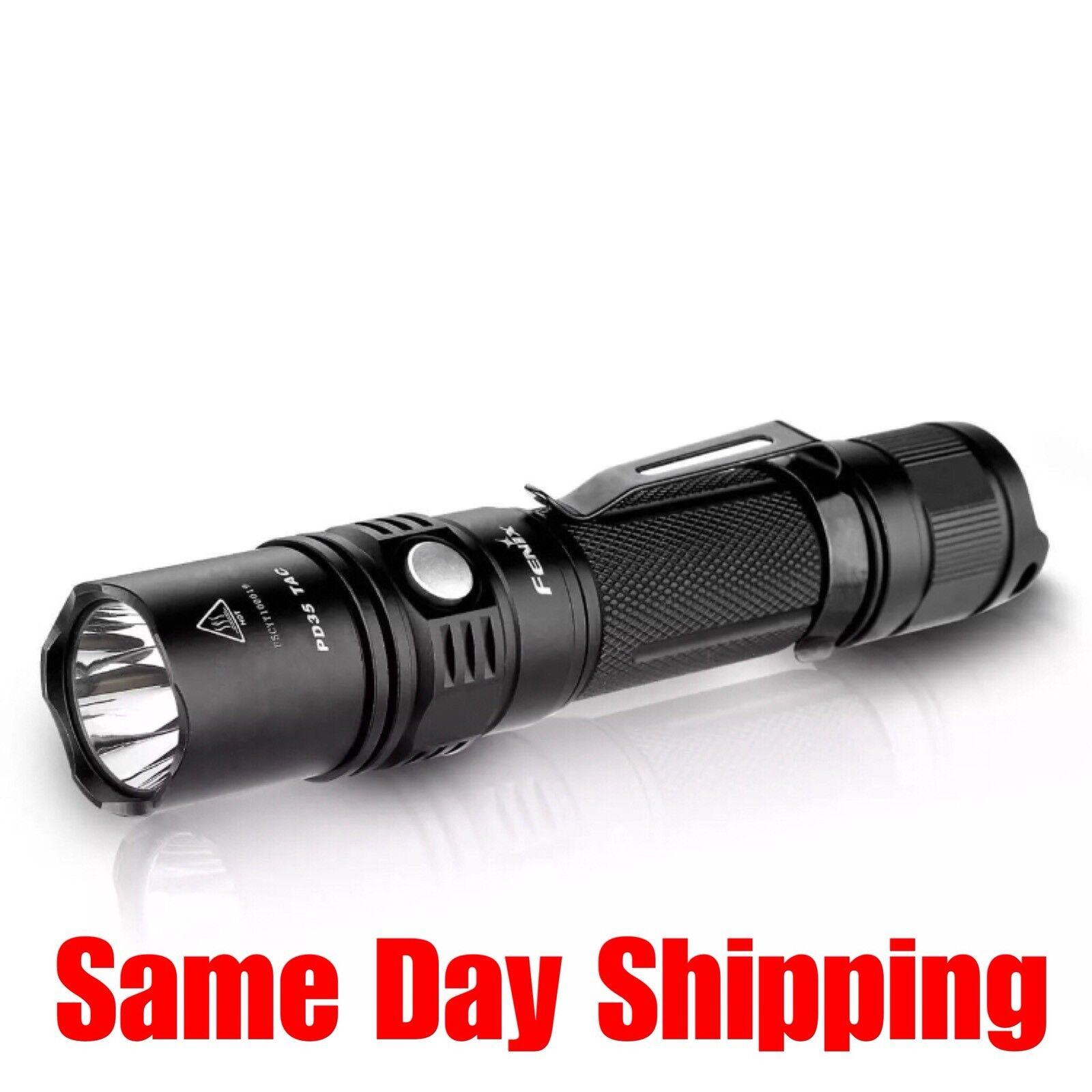 Fenix Flashlight PD35TAC Tactical Edition 1000 Lumen Stainless Steel FX-PD35TAC