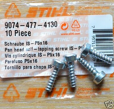 Proline® Pan Head Self-Tapping Screw For Stihl  9074 477 4132  4 pack P5x18