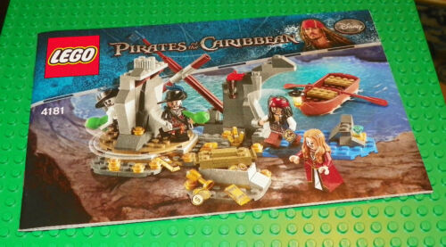 LEGO 4181 PIRATES OF THE CARIBBEAN ISLA DE MUERTA INSTRUCTION MANUAL ONLY
