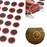 48X Bicycle Bike Cycle Tire Tyre Puncture Repair Piece Round Rubber Patch EF