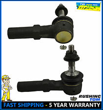 (2) New Front Outer Steering Tie Rod End For Ford Expedition Navigator 2003-2006