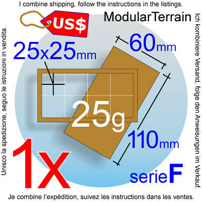 1x mdf movement tray 2x10 10x2 0mm and 20mm square base war hammer 40k tray